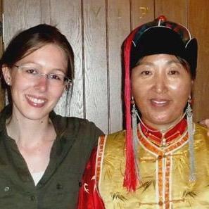 Nadia S in Mongolia